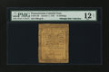 Colonial Notes:Pennsylvania, Pennsylvania October 1, 1755 10s PMG Fine 12 NET....