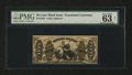 Fractional Currency:Third Issue, Fr. 1355 50c Third Issue Justice PMG Choice Uncirculated 63 Net....