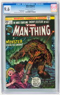 Bronze Age (1970-1979):Horror, Man-Thing #7 (Marvel, 1974) CGC NM+ 9.6 Off-white to whitepages....