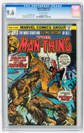 Bronze Age (1970-1979):Horror, Man-Thing #13 (Marvel, 1975) CGC NM+ 9.6 Off-white pages....