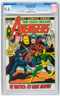 Bronze Age (1970-1979):Superhero, The Avengers #102 (Marvel, 1972) CGC NM+ 9.6 White pages....