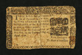 Colonial Notes:New York, New York August 13, 1776 $5 Very Good....