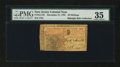 Colonial Notes:New Jersey, New Jersey December 31, 1763 30s PMG Choice Very Fine 35....