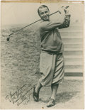 Golf Collectibles:Autographs, 1932 Gene Sarazen Signed Photograph....