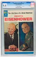 Silver Age (1956-1969):Miscellaneous, Dwight D. Eisenhower #01-237-912 File Copy (Dell, 1969) CGC NM 9.4Off-white to white pages.