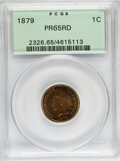 Proof Indian Cents, 1879 1C PR65 Red PCGS....
