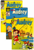 Golden Age (1938-1955):Humor, Little Audrey File Copies Group (Harvey, 1954-57) Condition: Average VF.... (Total: 10 )