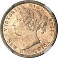 Canada:New Brunswick, Canada: New Brunswick. Victoria 20 Cents 1864,...