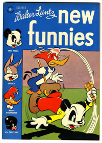 New Funnies #116 File Copy (Dell, 1946) Condition: NM-