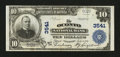 National Bank Notes:Wisconsin, Oconto, WI - $10 1902 Plain Back Fr. 626 The Oconto NB Ch. # 3541. ...