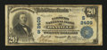 National Bank Notes:Kentucky, Danville, KY - $20 1902 Plain Back Fr. 658 The Farmers NB Ch. #(S)2409. ...