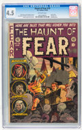 Golden Age (1938-1955):Horror, Haunt of Fear #19 (EC, 1953) CGC VG+ 4.5 Off-white pages....