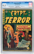 Golden Age (1938-1955):Horror, Crypt of Terror #17 (EC, 1950) CGC VG+ 4.5 Cream to off-whitepages....