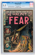 Golden Age (1938-1955):Horror, Haunt of Fear #27 (EC, 1954) CGC FN- 5.5 Cream to off-whitepages....