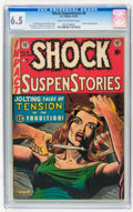 Golden Age (1938-1955):Horror, Shock SuspenStories #8 (EC, 1953) CGC FN+ 6.5 Cream to off-whitepages....