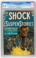 Golden Age (1938-1955):Horror, Shock SuspenStories #5 (EC, 1952) CGC FN+ 6.5 Cream to off-whitepages....