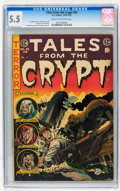 Golden Age (1938-1955):Horror, Tales From the Crypt #45 (EC, 1954) CGC FN- 5.5 Cream to off-whitepages....