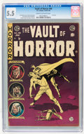 Golden Age (1938-1955):Horror, Vault of Horror #40 (EC, 1954) CGC FN- 5.5 Cream to off-whitepages....