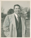 Golf Collectibles:Autographs, 1940's Fred Corcoran Signed Photograph....