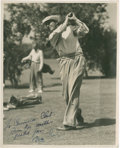 Golf Collectibles:Autographs, 1936 Bing Crosby Signed Photograph....