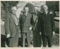 Golf Collectibles:Autographs, Circa 1930 O.B. Keeler & Grantland Rice Signed Photograph....