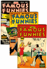 Famous Funnies File Copies Group (Eastern Color, 1948-53) Condition: Average VF.... (Total: 7 )