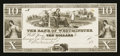 Obsoletes By State:Maryland, Westminster, MD- The Bank of Westminster $10 G10 Shank 150.5.5P Proof. ...