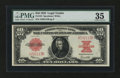 Large Size:Legal Tender Notes, Fr. 123 $10 1923 Legal Tender PMG Choice Very Fine 35....