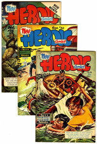 Heroic Comics File Copies Group (Eastern Color, 1948-54) Condition: Average VF+.... (Total: 6 )