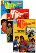 Silver Age (1956-1969):Humor, The Monkees File Copies Group (Dell, 1967-69) Condition: Average VF/NM.... (Total: 12 )