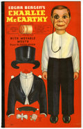 Memorabilia:Movie-Related, Edgar Bergan's Charlie McCarthy Paper Doll Book #995 (Whitman,1938)....