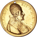 Italy, Italy: Papal States. Clement XII gold Annual Medal 1736,...