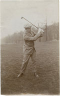 Golf Collectibles:Autographs, 1900's Eben Byers Photograph....