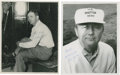 Golf Collectibles:Autographs, 1950's Ted Kroll & Sam Byrd Signed Photographs Lot of 2....
