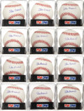 Autographs:Baseballs, 2000's Stan Musial Single Signed Baseballs Lot of 24, PSA Mint+ 9.5....