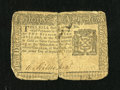 Colonial Notes:New York, New York September 2, 1775 $2 Very Good....