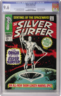 Silver Age (1956-1969):Superhero, The Silver Surfer #1 (Marvel, 1968) CGC NM+ 9.6 Off-white to whitepages....