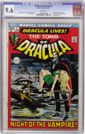 Bronze Age (1970-1979):Horror, Tomb of Dracula #1 (Marvel, 1972) CGC NM+ 9.6 White pages....