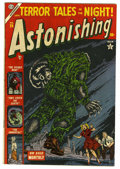 Golden Age (1938-1955):Horror, Astonishing #29 (Atlas, 1954) Condition: VG/FN....