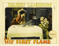 "His First Flame (Pathe', 1927). Lobby Cards (2) (11"" X 14""). ... (Total: 2 Items)"
