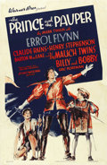 """Movie Posters:Action, The Prince and the Pauper (Warner Brothers, 1937). One Sheet (27"""" X41""""). ..."""