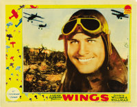 """Wings (Paramount, 1927). Lobby Cards (2) (11"""" X 14""""). ... (Total: 2 Items)"""