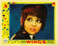 "Movie Posters:Academy Award Winner, Wings (Paramount, 1927). Lobby Card (11"" X 14""). ..."
