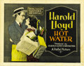 "Movie Posters:Comedy, Hot Water (Pathe', 1924). Title Lobby Card (11"" X 14"" ) and LobbyCard (11"" X 14""). ... (Total: 2 Items)"
