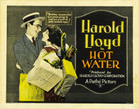 """Hot Water (Pathe', 1924). Title Lobby Card (11"""" X 14"""" ) and Lobby Card (11"""" X 14""""). ... (Total: 2 It..."""