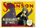 "Movie Posters:Comedy, Bluebeard's 8th Wife (Paramount, 1923). Title Lobby Card and LobbyCard (11"" X 14""). ... (Total: 2 Items)"