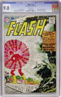Silver Age (1956-1969):Superhero, The Flash #110 (DC, 1959) CGC VF/NM 9.0 White pages....
