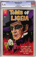 Silver Age (1956-1969):Horror, Movie Classics - Tomb of Ligeia - Northland pedigree (Dell, 1965)CGC NM 9.4 Off-white pages....