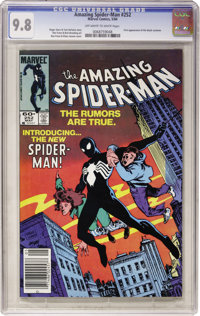 The Amazing Spider-Man #252 (Marvel, 1984) CGC NM/MT 9.8 Off-white to white pages