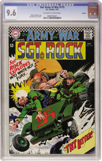 Our Army at War #175 Boston pedigree (DC, 1967) CGC NM+ 9.6 Off-white to white pages